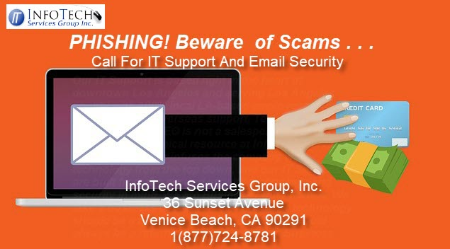 Email scams like phishing can disrupt your business.