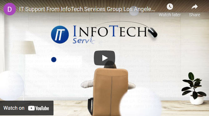 This video discusses InfoTech Services Group Inc. IT support